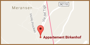 Where to Find us - Your Route to the Birkenhof Farm in Meransen